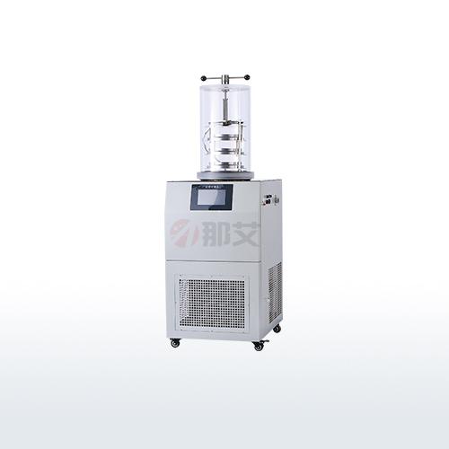 立式冻干机-电加热压盖型(-80℃;0.12㎡)