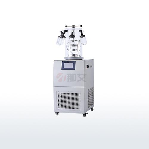立式冻干机-电加热压盖挂瓶型(-80℃;0.12㎡)