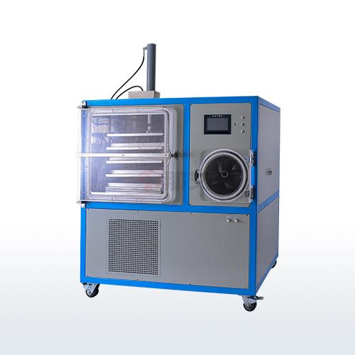 中试冻干机-硅油加热压盖型(-80℃;0.5平方)